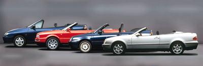 Die Karmann-Cabrio-Palette